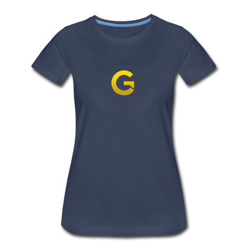 Goldencami s Gold G - Women's Premium T-Shirt
