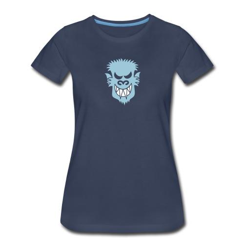 Naughty Halloween Werewolf - Women's Premium T-Shirt