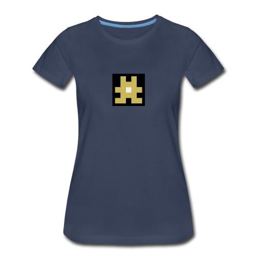 YELLOW hashtag - Women's Premium T-Shirt