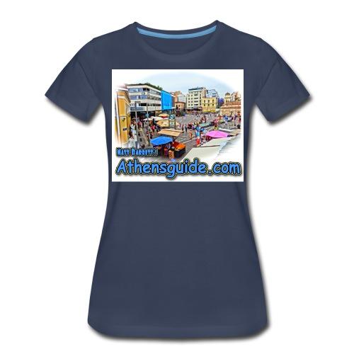 Athensguide Monastiraki jpg - Women's Premium T-Shirt