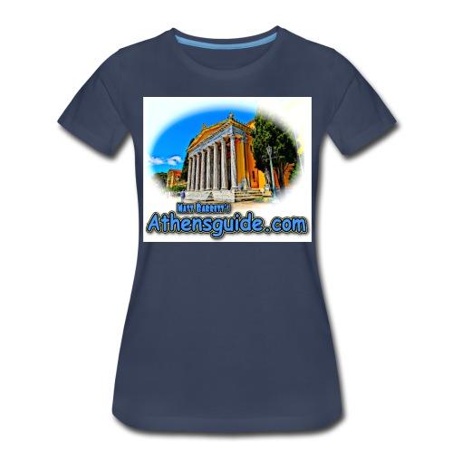 Athensguide Zappion jpg - Women's Premium T-Shirt