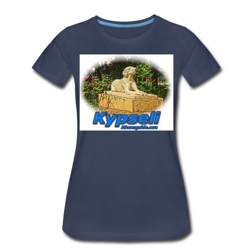 kypseli dog jpg - Women's Premium T-Shirt