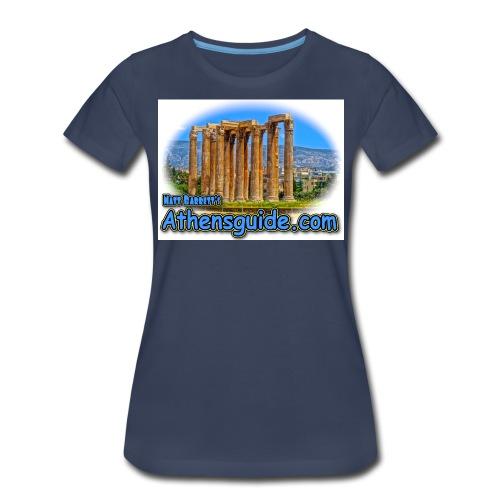 athenshguide temple zeus jpg - Women's Premium T-Shirt