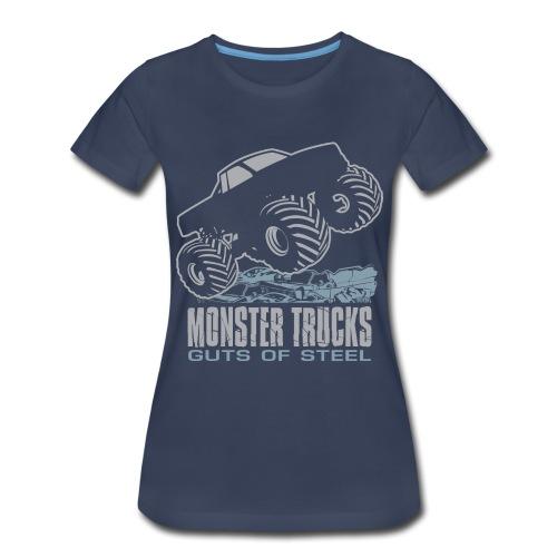 Monster Truck Guts - Women's Premium T-Shirt