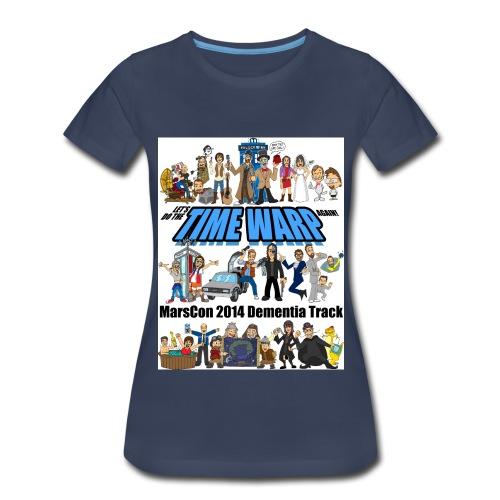 marscon 2014 dementia track tshirt - Women's Premium T-Shirt