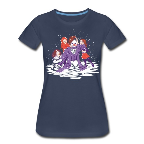 snowman take 2 - Women's Premium T-Shirt