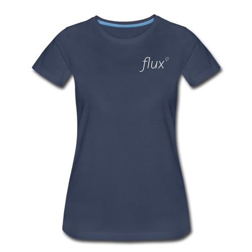 flux logo shirt png - Women's Premium T-Shirt