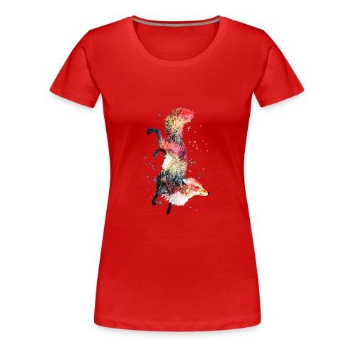 Fox Spirit Animal - Women's Premium T-Shirt