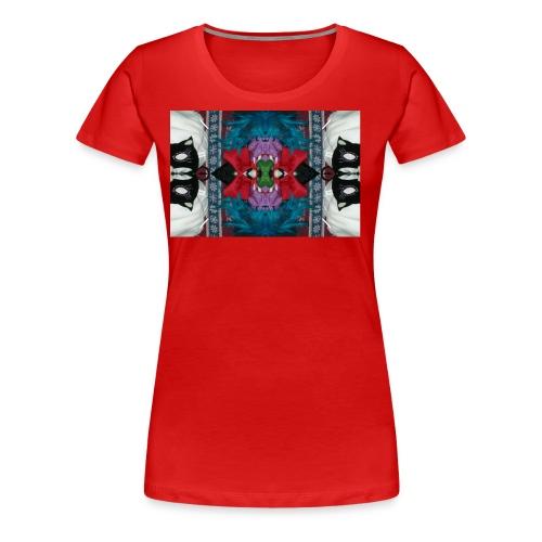 Funny yet eerie dracula hallucination - Women's Premium T-Shirt