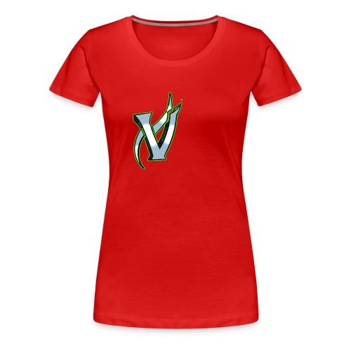 Vix V Symbol Altered - Women's Premium T-Shirt