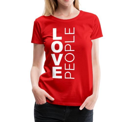 Love People (vision month) - Women's Premium T-Shirt