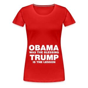 blessing white - Women's Premium T-Shirt