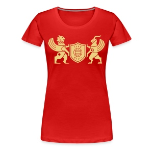 Iran lion & griffin - Women's Premium T-Shirt
