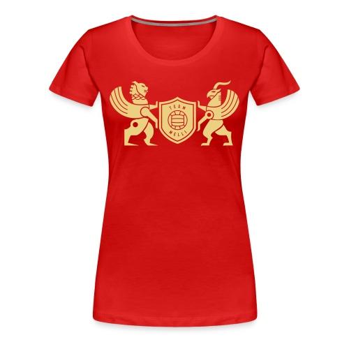 Iran lion & griffin - Women's Premium T-Shirt