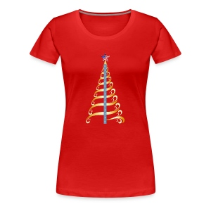 Christmas Honor Tree - Women's Premium T-Shirt
