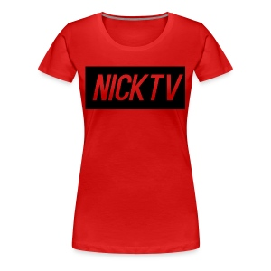 NICKTV - Women's Premium T-Shirt