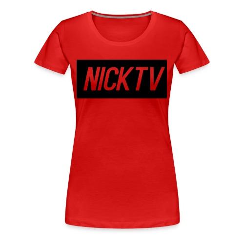 NICKTV - Women's Premium T-Shirt