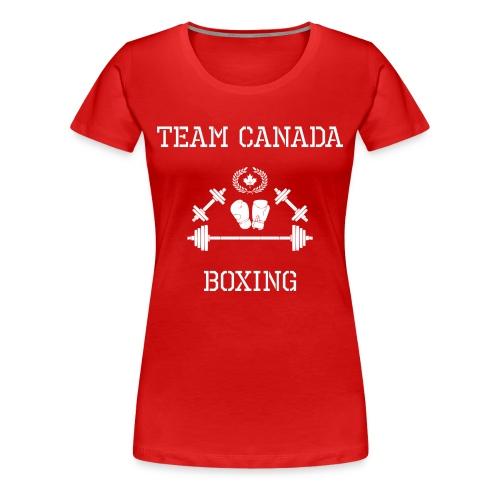 Team Canada Boxing - Women's Premium T-Shirt