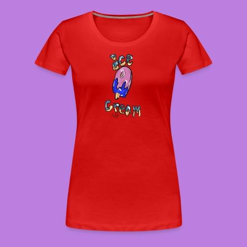 ice cream design - Women's Premium T-Shirt