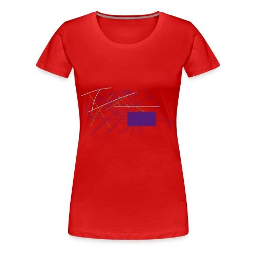 zig zag zig - Women's Premium T-Shirt