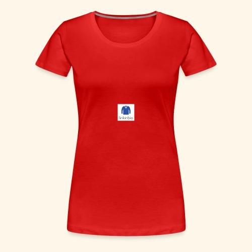 LinkInBio - Women's Premium T-Shirt