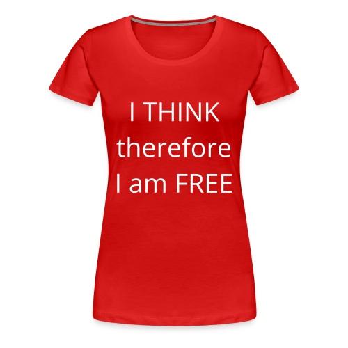 Freethinker - Women's Premium T-Shirt