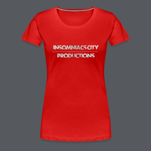 Insomniacs City TEXT 1 - Women's Premium T-Shirt