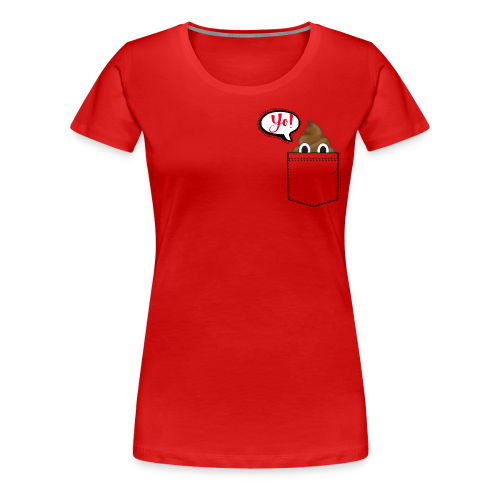Pocket O Poop - Women's Premium T-Shirt