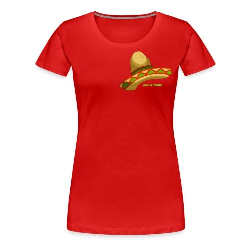Sombrero Mejicano - Women's Premium T-Shirt