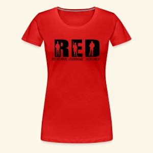 RED Friday - Women's Premium T-Shirt