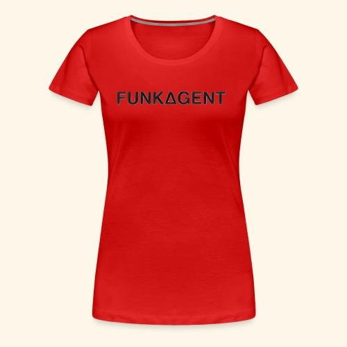 FunkAgent Decent - Women's Premium T-Shirt