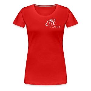 white juan Rojas vlogs - Women's Premium T-Shirt