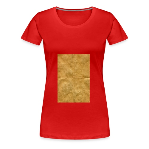 golden block rock - Women's Premium T-Shirt