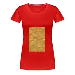 golden block rock - Women's Premium T-Shirt