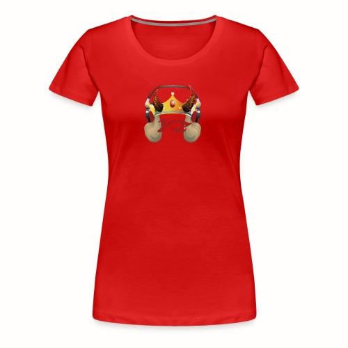YXNGZAY KING LOGO - Women's Premium T-Shirt