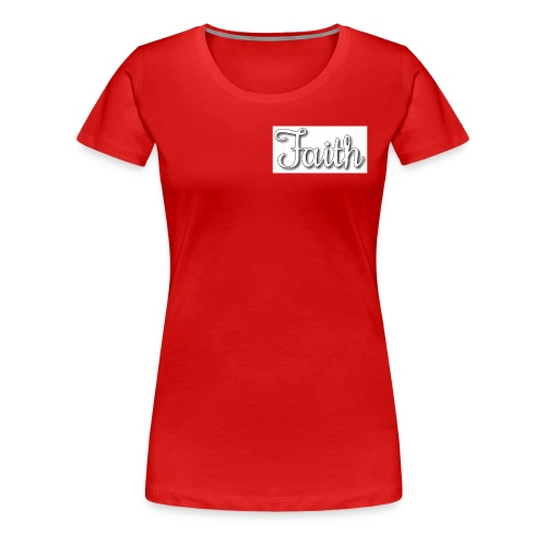 Faith products - Women's Premium T-Shirt