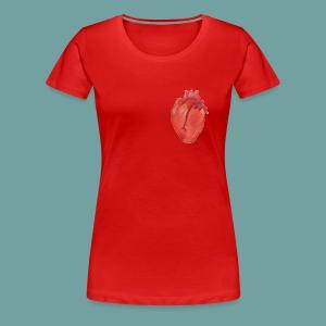 Heart Anatomy Shirt design - Women's Premium T-Shirt