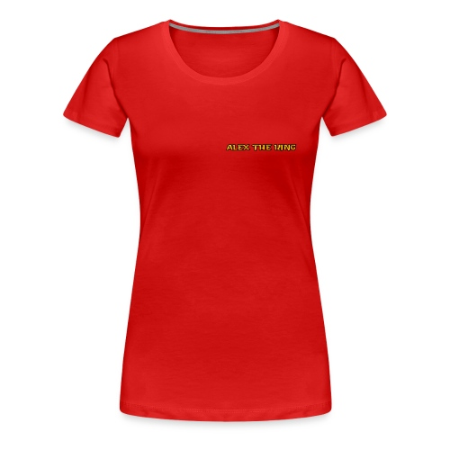 Alex The King - Women's Premium T-Shirt