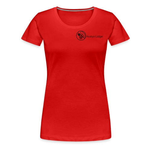 Akaiya Lidge LogoMakr - Women's Premium T-Shirt
