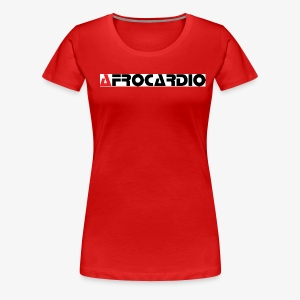 AFRO WHITE 2 - Women's Premium T-Shirt