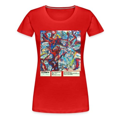 Like a Hurricane - Women's Premium T-Shirt