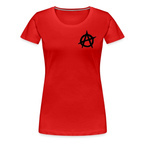 ANVRCHY BLACK - Women's Premium T-Shirt
