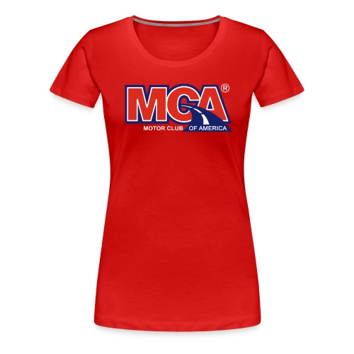 MCA Logo Transparent - Women's Premium T-Shirt