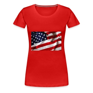 HAPPY Independece Day 4th July USA - Women's Premium T-Shirt