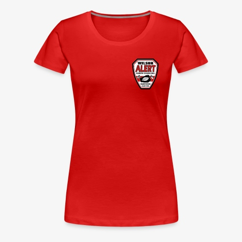 New Wilson ALERT Logo - Women's Premium T-Shirt