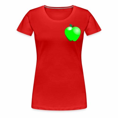 Green Apple - Women's Premium T-Shirt