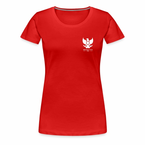 Indonesia Raya 1945 - Women's Premium T-Shirt