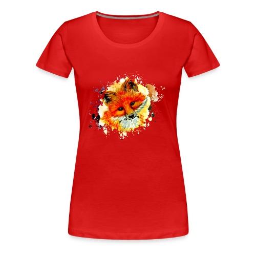 fox face - Women's Premium T-Shirt