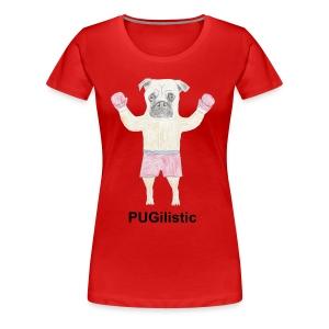 PUGilistic - Women's Premium T-Shirt