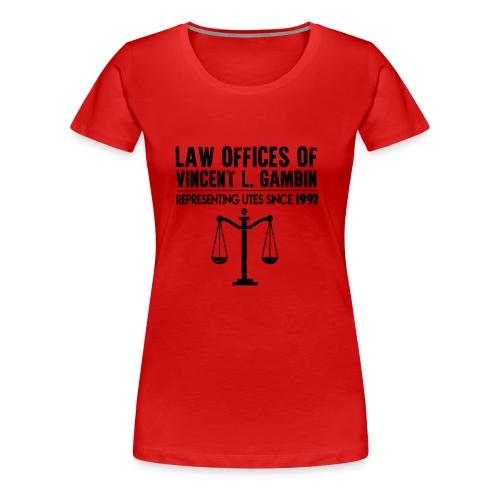 gambini representing - Women's Premium T-Shirt